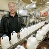 Drew Braum in the cartons filling room on the Braum\'s Tour, Monday, April 13, 2009. Photo By David McDaniel, The Oklahoman.