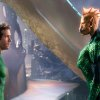 "GLCFC-00096 (L-r) RYAN REYNOLDS as Green Lantern and Tomar-Re, voiced by GEOFFREY RUSH, in Warner Bros. Pictures' action adventure ""GREEN LANTERN,"" a Warner Bros. Pictures release."