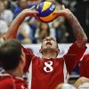 UCO: Team USA\'s James Stuck returns a serve as the USA men take on Bosnia during the 2010 World Championships of Sitting Volleyball at the University of Central Oklahoma on Monday, July 12, 2010, in Edmond, Okla. Photo by Chris Landsberger, The Oklahoman ORG XMIT: KOD