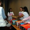 Girl Scouts from Lee Elementary unpack boxes of cookies to sell to Oklahoma Medical Research Foundation employees. Community Photo By: Lisa Tullier Submitted By: Michael, Oklahoma City