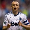 Vancouver Whitecaps\' Kenny Miller, of Scotland, celebrates his goal against the Seattle Sounders during the first half of an MLS soccer match in Vancouver, British Columbia, on Saturday, July 6, 2013. (AP Photo/The Canadian Press, Darryl Dyck)