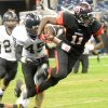 OSU commitment Jhajuan Seales runs for yardage in a game during the 2011 season. PHOTO COURTESY BEAUMONT ENTERPRISE TAMMY MCKINLEY