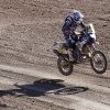 Photo - Yamaha rider Olivier Pain of France jumps with his motorcycle during the eleventh stage of the Dakar Rally between the cities of Antofagasta and El Salvador, Chile, Thursday, Jan. 16, 2014. (AP Photo/Victor R. Caivano)