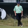 Photo - Tom Watson of the US waits to play on the 3rd green during the second day of the British Open Golf championship at the Royal Liverpool golf club, Hoylake, England, Friday July 18, 2014. (AP Photo/Scott Heppell)