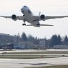 Photo - A Boeing 787 lifts off on Monday, March 25, 2013 at Paine Field in Everett. This was the first test flight of a 787 since the fleet was grounded because the danger of a fire with the lithium-Ion battery in the plane. (AP Photo/seattlepi.com, Joshua Trujillo)
