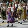 The Celtic Praise Troop danced along the parade route in the annual Saint Patrick\'s Day Parade in downtown Oklahoma City, OK, Saturday, March 16, 2013, By Paul Hellstern, The Oklahoman