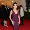 """Selena Gomez attends The Metropolitan Museum of Art\'s Costume Institute benefit gala celebrating """"Charles James: Beyond Fashion"""" on Monday, May 5, 2014, in New York. (Photo by Evan Agostini/Invision/AP)"""