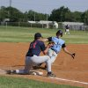 Josh Riley, Chandler Alumnus, slides into third. Oklahoma City Adult Baseball League. Community Photo By: Dean Humphrey Submitted By: ryan,