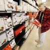 Richard Randal shops for Valentine's Day chocolates for his wife Wednesday at Russell Stover in Oklahoma City. Photos by Steve Gooch, The Oklahoman