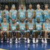 Photo - NBA BASKETBALL, TEAM PHOTO: The Hornets pose for a team photograph during the NBA's New Orleans/Oklahoma City Hornets media day at the Ford Center, October 3, 2005. By Nate Billings/The Oklahoman
