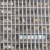 Damaged windows in a building in central Oslo, Friday July 22, 2011, following an explosion that tore open several buildings including the prime minister\'s office, shattering windows and covering the street with documents.(AP Photo/Berit Roald, Scanpix, Norway)