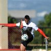 Photo - Ghana's Kevin Prince Boateng controls the ball, during a training session in Brasilia, Brazil, Wednesday, June 25, 2014. Ghana will play Portugal in group G of the 2014 soccer World Cup on June 26. (AP Photo/Paulo Duarte)