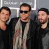 FILE - In a Feb. 10, 2013 file photo, Swedish House Mafia, from left, Axwell, Steve, Sebastian Ingrosso, and Steve Angello arrive at the 55th annual Grammy Awards, in Los Angeles. This year\'s Ultra Music Festival, which begins Friday, March 15, 2013, will feature the final performance of the Swedish House Mafia. (Photo by Jordan Strauss/Invision/AP, File)