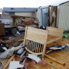 Tornado-damaged home north of Waterloo on Broadway, Tuesday , February 10, 2009. By David McDaniel, The Oklahoman