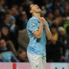 Photo - Manchester City's Samir Nasri grimaces after missing a goal scoring opportunity during the English Premier League soccer match between Manchester City and Sunderland at The Etihad Stadium, Manchester, England, Wednesday, April 16, 2014. (AP Photo/Rui Vieira)