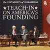 Panel discussion at OU\'s Teach-in on America\'s Founding event, Monday, February 27, 2012. Photo by David McDaniel, The Oklahoman
