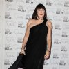 This Sept. 20, 2012 photo released by Starpix shows actress Anjelica Huston at the New York City Ballet Fall Gala honoring Valentino Garavani at Lincoln Center in New York. Valentino, who created most of the vibrant costumes and dramatically upped the glamour quotient of the evening, attracting movie stars, supermodels and socialites galore. (AP Photo/Starpix, Amanda Schwab)