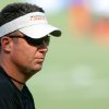 Photo - Head coach Mike Gundy during the first Oklahoma State University fall football practice, in Stillwater, Okla., Thursday, July 31, 2008. BY MATT STRASEN, THE OKLAHOMAN