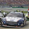 Photo - Brad Keselowski pits during the first caution of the NASCAR Sprint Cup series auto race Saturday, June  28, 2014, at Kentucky Speedway in Sparta, Ky. (AP Photo/James Crisp)