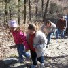 Walkers at Robbers Cave State Park near Wilburton participate in the annual First Day Hikes campaign. PHOTO PROVIDED