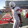 OU\'s DeMarco Murray walks off the field after OU\'s 41-13 loss in the college football game between the University of Oklahoma Sooners (OU) and Texas Tech University Red Raiders (TTU ) at Jones AT&T Stadium in Lubbock Okla., Saturday, Nov. 21, 2009. Photo by Bryan Terry, The Oklahoman