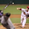 St. Louis Cardinals starting pitcher Shelby Miller throws against the Colorado Rockies during a baseball game on Friday, May 10, 2013, at Busch Stadium in St. Louis. (AP Photo/St. Louis Post-Dispatch, Chris Lee) EDWARDSVILLE INTELLIGENCER OUT; THE ALTON TELEGRAPH OUT