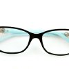 Eyelgasses have gone from nerd necessity to fashion accessory like this pair from Tiffany & Co. (Kirk McKoy/Los Angeles Times/MCT)