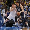 Oklahoma City\'s Nick Collison (4) defends on Memphis\' Marc Gasol (33) during the NBA basketball game between the Oklahoma City Thunder and the Memphis Grizzlies at Chesapeake Energy Arena on Wednesday, Nov. 14, 2012, in Oklahoma City, Okla. Photo by Chris Landsberger, The Oklahoman