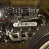 This Monday, Nov. 26, 2012 photo shows the motor from a 1929 Pierce-Arrow car in North Palm Beach, Fla. John Staluppi calls his private collection the Cars of Dreams Museum and it\'s easy to see why. Dozens of iconic automobiles from the museum are going on the auction block Dec. 1, from a Harley owned by Evel Knievel to a Batmobile recreation signed by the cast to vintage ice cream and fire trucks. He\'s also putting up for bits an ecclectic gathering of Americana, from a reproduced Bob\'s Big Boy diner to a massive Lionel train spread to a working 1918 carousel.(AP Photo/J Pat Carter)