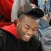 Carl Albert High School football player Tre Porter signs letter of intent with Texas Tech University during a signing ceremony in the school\'s fieldhouse, Wednesday morning, Feb, 3, 2010. Photo by Jim Beckel, The Oklahoman