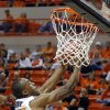 Oklahoma State\'s Markel Brown (22) dunks during the college basketball game between Oklahoma State University and Portland State, Sunday,Nov. 25, 2012. Photo by Sarah Phipps, The Oklahoman
