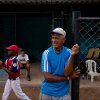 Photo - The uncle of Detroit Tigers' Miguel Cabrera, Jose Torres, watches a practice at the baseball filed where Cabrera learned to play, in Maracay, Venezuela, Friday, March 28, 2014. Unlike many Latin American countries, where soccer is king, baseball is the national obsession in Venezuela, cutting across classes and political ideologies. Cabrera was born into a family particularly wrapped up in the sport. His uncle Jose played professionally with the local Tigres de Aragua team, and his mother Gregoria was a member of the national softball team for 12 years. (AP Photo/Alejandro Cegarra)