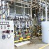 Photo - Boilers in the heating system are part of the tour of Tinker Air Force Base's heating system.