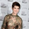 This Sept. 20, 2012 photo released by Starpix shows actress Anne Hathaway arrives at the New York City Ballet Fall Gala honoring fashion designer Valentino Garavani at Lincoln Center in New York. Valentino, who created most of the vibrant costumes and dramatically upped the glamour quotient of the evening, attracting movie stars, supermodels and socialites galore. (AP Photo/Starpix, Amanda Schwab)