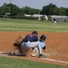 Josh Riley, Chandler Alumnus, completes the slide...Safe???!!! Community Photo By: Dean Humphrey Submitted By: ryan,