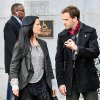 """Pilot""-- ELEMENTARY stars Jonny Lee Miller as detective Sherlock Holmes and Lucy Liu as Dr. Joan Watson in a modern-day drama about a crime solving duo that cracks the NYPD's most impossible cases. ELEMENTARY premieres Thursdays, September 27th,(10:00-11:00 PM ET/PT) on the CBS Television Network. Photo Credit: John Paul Filo ©2012 CBS BROADCASTING INC. ALL RIGHTS RESERVED."