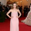 """Rachel McAdams attends The Metropolitan Museum of Art\'s Costume Institute benefit gala celebrating """"Charles James: Beyond Fashion"""" on Monday, May 5, 2014, in New York. (Photo by Evan Agostini/Invision/AP)"""