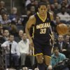 Milwaukee Bucks\' Francisco elson watches Indiana Pacers\' Danny Granger get control of the ball during the first half of an NBA basketball game Wednesday, Feb. 11, 2009, in Milwaukee. (AP Photo/Morry Gash) ORG XMIT: WIMG104