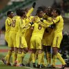 Photo -   Anzhi's Lacina Traore, 2nd right, celebrates his goal against Liverpool with teammates during the Europa League Group A soccer match at Lokomotiv stadium in Moscow, Russia, on Thursday, Nov. 8, 2012. Anzhi won 1-0. (AP Photo/Ivan Sekretarev)