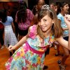 Abigail Lynch dances during the Midwest City Parks and Recreation\'s Spring Fling dance in Midwest City, Okla., Friday, March 16, 2012. Photo by Sarah Phipps, The Oklahoman.