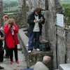 Tourists come in droves to smooch Ireland\'s Blarney Stone (said to make you silver-tongued), but I\'d rather kiss a horse. (Photo by Rick Steves)