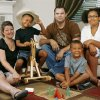 The Dickey family recently moved to Oklahoma. They will attend their first Oklahoma State Fair this September. They were photographed in their Choctaw home Thursday, August 7, 2008. From left are Sarah Dickey, Troy, 6, Jeremy Dickey, Darion, 4, and Kyley, 11. By Jim Beckel/The Oklahoman