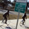 Cyclists rides along the Lance Armstrong Bikeway, Sunday, Jan. 13, 2013, in Austin, Texas. In what\'s been billed as a