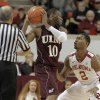 Oklahoma\'s Steven Pledger (2) guards Louisiana\'s Amos Olatayo (10) during a men\'s college basketball game between the University of Oklahoma and the University of Louisiana-Monroe at the Loyd Noble Center in Norman, Okla., Sunday, Nov. 11, 2012. Photo by Garett Fisbeck, The Oklahoman