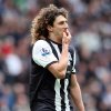 Newcastle United\'s captain Fabricio Coloccini, is seen during their English Premier League soccer match against Manchester City at the Sports Direct Arena, Newcastle, England, Sunday, May 6, 2012. (AP Photo/Scott Heppell)