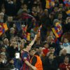 Barcelona\'s Lionel Messi celebrates after scoring during a Champions League, round of 16, second leg, soccer match between FC Barcelona and Manchester City at the Camp Nou Stadium in Barcelona, Spain, Wednesday March 12, 2014. (AP Photo/Emilio Morenatti)
