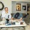 Brandon Weeden signs his Yankees contract in 2002. PHOTO PROVIDED