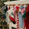 Christmas stockings hang at Green Acres, a residential care home in southwest Oklahoma City. NATE BILLINGS - The Oklahoman