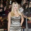British presenter Holly Willoughby arrives for the UK premiere of \'Twilight Breaking Dawn Part 1\' at a central London venue, Wednesday, Nov. 16, 2011. (AP Photo/Jonathan Short) ORG XMIT: LJS112