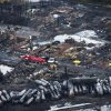 Photo -   Workers comb through debris July 9 after an oil train derailed and exploded in the town of Lac-Megantic, Quebec, killing 47 people.  AP File Photos  <strong>Paul Chiasson -   </strong>